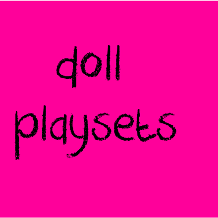 Picture for category Doll Playsets