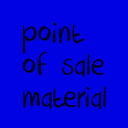 Picture for category Point of Sale Material
