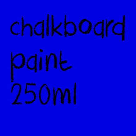 Picture for category Chalkboard Paint 250ml