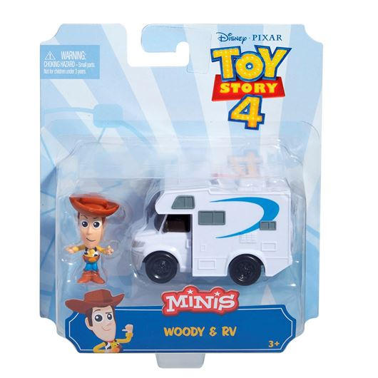 Picture of TOY STORY 4 - MINI FIGURE + VEHICLE ASST
