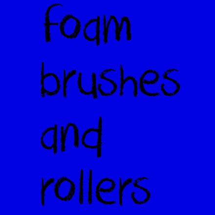 Picture for category Foam Brushes and Rollers