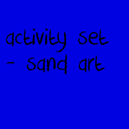 Picture for category Activity Set - Sand Art
