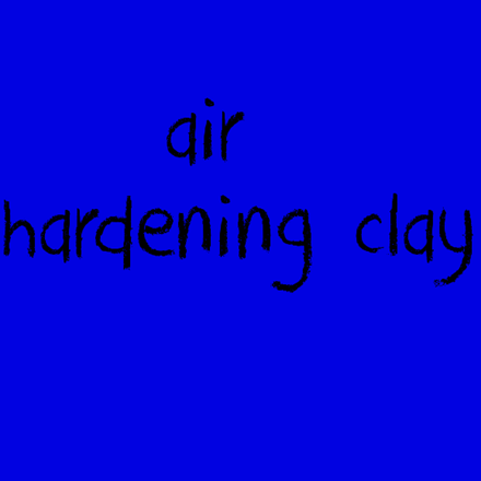 Picture for category Air Hardening Clay
