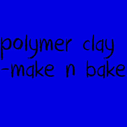 Picture for category Polymer Clay - Make n Bake