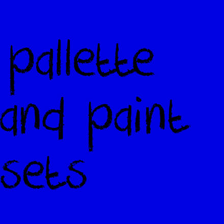 Picture for category Pallette and Paint Sets