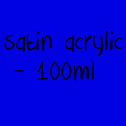 Picture for category Satin Acrylic - Semi Matte 100ml