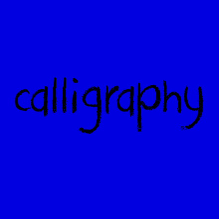 Picture for category Calligraphy